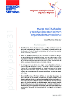Maras en El Salvador y su relación con el crimen organizado transnacional