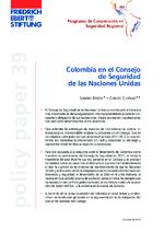Colombia en el Consejo de Seguridad de las Naciones Unidas