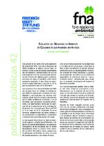 Evolución del Ministerio de Ambiente de Colombia en sus primeros veinte años