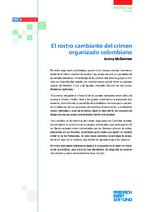 El rostro cambiante del crimen organizado colombiano