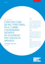 Construcción de paz territorial en el Caribe Colombiano