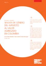 Sesgos de género del impuesto al valor agregado en Colombia