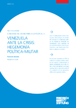 Venezuela ante la crisis