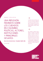Una reflexión feminista sobre los cuidados en Colombia