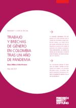 Trabajo y brechas de género en Colombia tras un año de pandemia