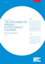 The Latin American presence in post-conflict Colombia
